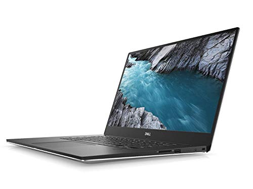 "2018 Dell XPS 9570 Laptop, 15.6"" UHD (3840 x 2160) InfinityEdge Touch Display, 8th Gen Intel Core i7-8750H, 32GB RAM, 1TB SSD, GeForce GTX 1050Ti, Fingerprint Reader, Windows 10 Home, Silver"