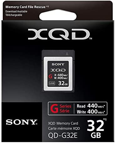 Amazon.com: Sony Professional 32GB XQD Memory Card G Series ...