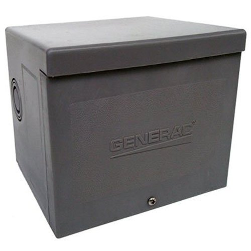 Generac 6337 30-Amp 125/250V Raintight Power Inlet ()