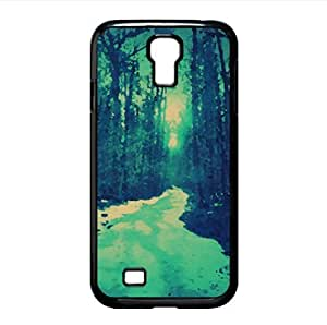Winter Road Watercolor style Cover Samsung Galaxy S4 I9500 Case (Winter Watercolor style Cover Samsung Galaxy S4 I9500 Case)