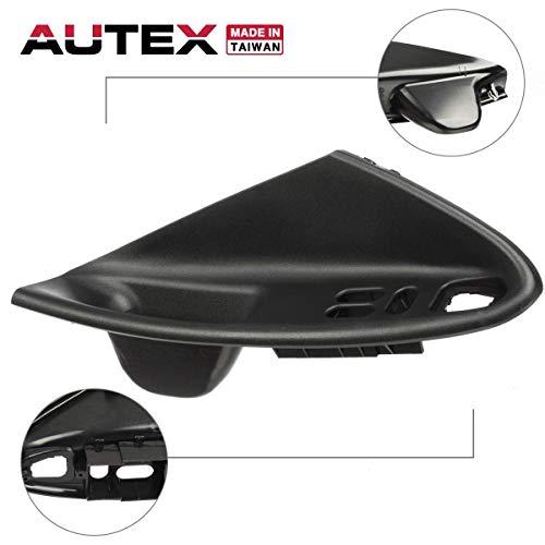 AUTEX Door Handle Black Interior Front Left Driver Side Compatible with Ford Mustang 1994-2000 Door Handle Coupe ()