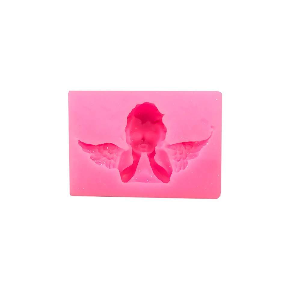 Ogquaton Premium Qualit/ät 1 st/ück Nette Kleine Engel Form Formen DIY Backformen Silikon Backform Schokolade Fondantform Seifenformen f/ür Kuchen Dekoration