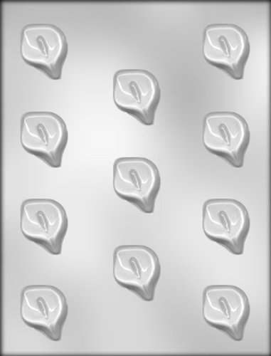 CK Products 1-1/2-Inch Calla Lily Chocolate Mold ()