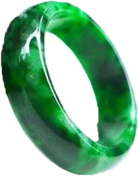 Grade A Gray Jadeite Jade Asian Dragon Ring Expertly Hand Carved Size 10 12 US