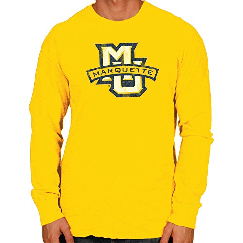 brand new a71b2 f407a Marquette Golden Eagles Long Sleeve Shirts. Original Retro Brand NCAA ...