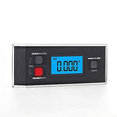 CGOLDENWALL PRO360 Digital Protractor Inclinometer Waterproof Angle Instrument with Backlight (with magnets)