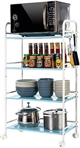 Carrito cocina Horno microondas Rejilla | Metal Wire Mesh Serving ...