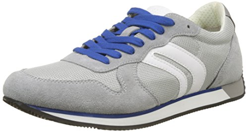 C Men Geox Low U Vinto Top Lt Grey Grey Sneakers tgna7Sq7