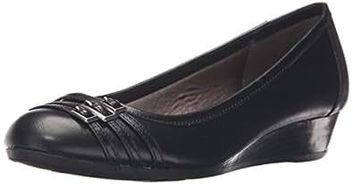 LifeStride Womens D6889S1001 Farrow Black Size: 5.5