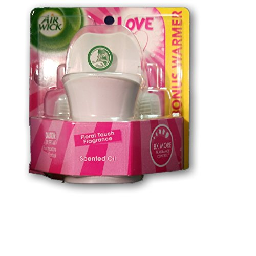 Air Wick scented oil plug in additional refills (Love Floral, 1 pack of (Electric Plug In Refill)