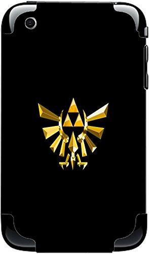 Legend of Zelda Triforce Symbol Print iPhone 3G&3GS Vinyl Decal Sticker Skin
