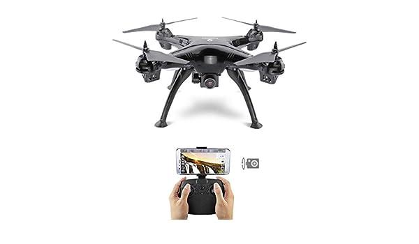 Dron cuadricóptero con HD 4 K,5 G con 4 luces LED de colores de ...