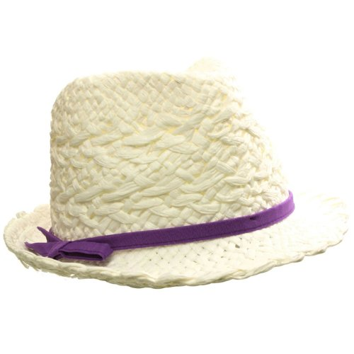 D&Y Kids Girls Fedora Trilby Crusher Hat