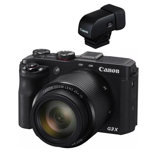 Canon Finder (Canon PowerShot G3 X Digital Point & Shoot Camera with Electronic View Finder)