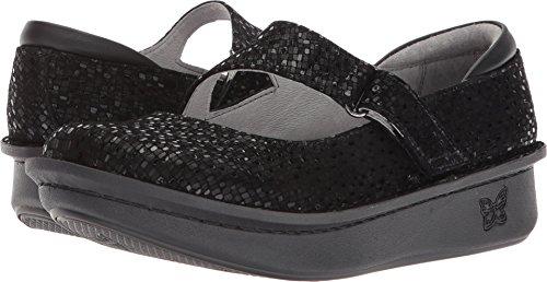 Alegria Womens Dayna Mary Jane Shoe, Tile Me More Black, Size 35 EU (5-5.5 M US Women)