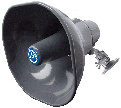 Atlas Sound AP-30T 30W Horn Loudspeaker for 25, 70.7, or 100V Line Applications - 30w Horn