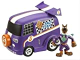 Scooby Doo Mystery Mates Race Team Van & Scooby set by CHARACTER
