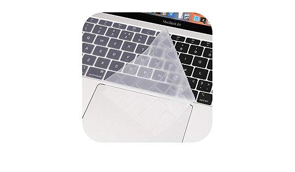Silicona EE.UU. Enter teclado portátil cubre teclado teclado ...