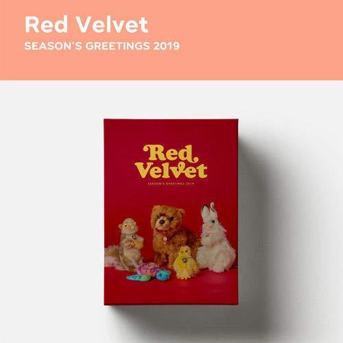 (Red Velvet 2019 Season's Greetings DVD+1p Calendar+12p Poster+2p Sticker+Diary+PreOrder+Tracking )
