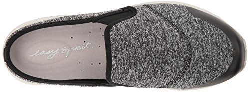 Easy Spirit Womens Takeit Mule Black/Black Fabric