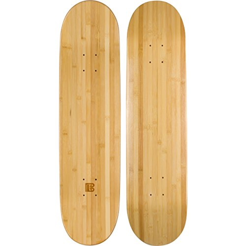 "Bamboo Skateboards Blank Skateboard Deck - POP - Strength - Sustainability (8.0"")"