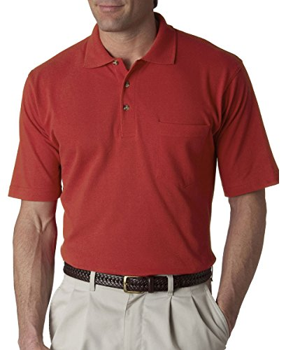 Ultraclub Mens Classic Pique Polo with P - Red Classic Windshirt Shopping Results