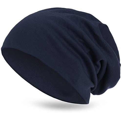 transpirable Azul Beanie fino Slouch Gorro ligero de Marino unisex invierno Style3 y XXL ZYwO5