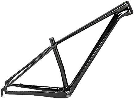 マウンテンバイクフレーム カーボンファイバー18K 29インチホイールセット用 自転車用アクセサリー 15.5 / 17/19インチ高