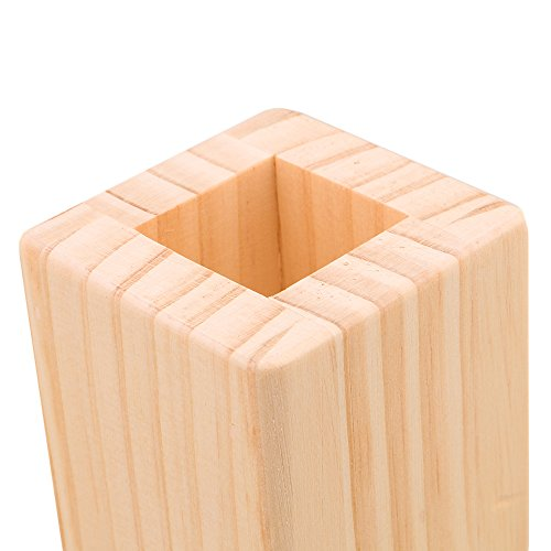 Yibuy 4PC 5CM Lift Height Furniture Table Lifter Bed Riser for 3cm Square Feet by Yibuy (Image #4)