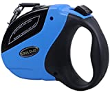 Retractable Dog Leash Heavy Duty Nylon Ribbon & Works Great for Small Medium & Large Dogs- Dogs up to 110lbs