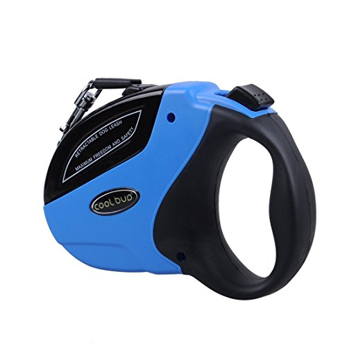 UPC 600231568586, Retractable Dog Leash Heavy Duty Nylon Ribbon & Works Great for Small Medium & Large Dogs- Dogs up to 110lbs