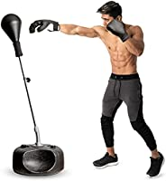 Protocol Punching Ball Adjustable Height Withstands Tough Beatings Great Value