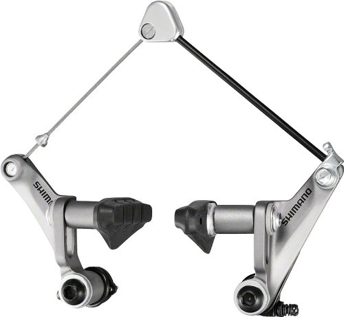 (Shimano BR-CX50 Canti Cross Brake (Silver, Front 0r))