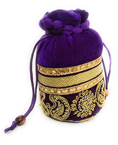 Potli Gifts Purple Bag...