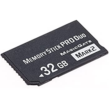 Amazon.com: Original Memory stick Pro- Duo 32GB (MSHX) for ...