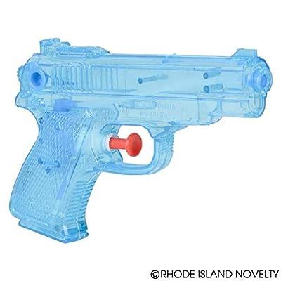 Rhode Island Novelty 6 Inch Water Squirt Guns, 2 Pack: Toys & Games