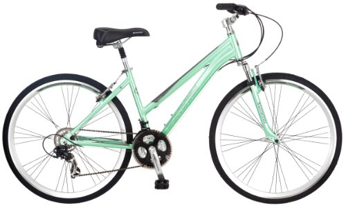 Schwinn Women's Siro Hybrid Bicycle 700c Wheel Small Frame Size, Light Green