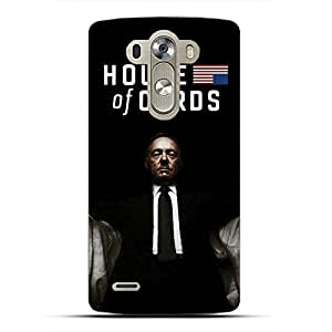 Hot Sellingpopular House of Cards Phone Case cover for LG G4 3d hard plastic case