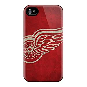 High Quality Detroit Red Wings Skin Cases Covers Specially Designed For Apple Iphone 5/5S Case Cover