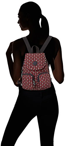 Women's Up pink Chevron Firefly Backpack Kipling Multicolour RdqEq