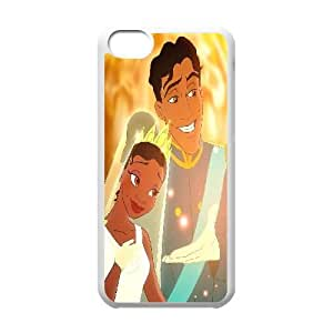 LSQDIY(R) Princess and the Frog iPhone 5C Customized Case, Unique iPhone 5C Durable Case Princess and the Frog