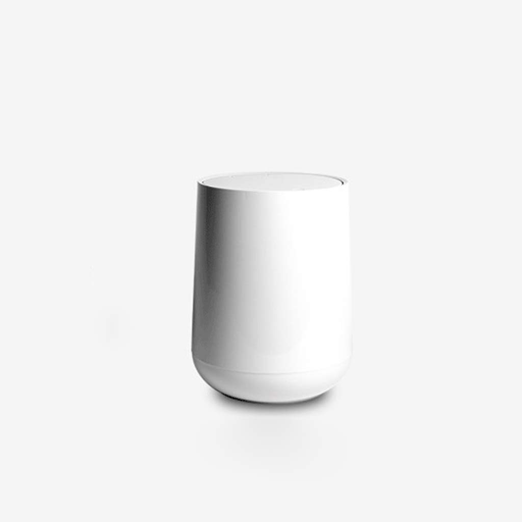 Cunemmo Modern Minimalist Nordic Trash can Home Living Room Kitchen Press Trash can Creative Paper Toilet Bathroom Paper by Cunemmo