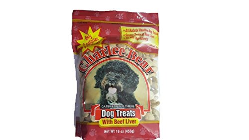 Charlee Bear Dog Treats with Beef Liver 16 oz