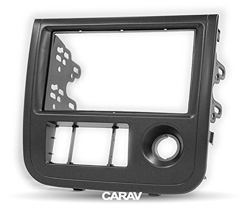 Carav 11-718 Car Stereo Radio installation frame Double Din in Dash Facia Fascia Kit for ZOTYE (5008) 2010-2013; Hunter, Nomad 2010+; T200 2013-2016 with 17398mm/178100mm/178102mm by CARAV