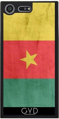 Funda Silicona para Sony Xperia XZ Premium - Bandera De Camerún by wamdesign