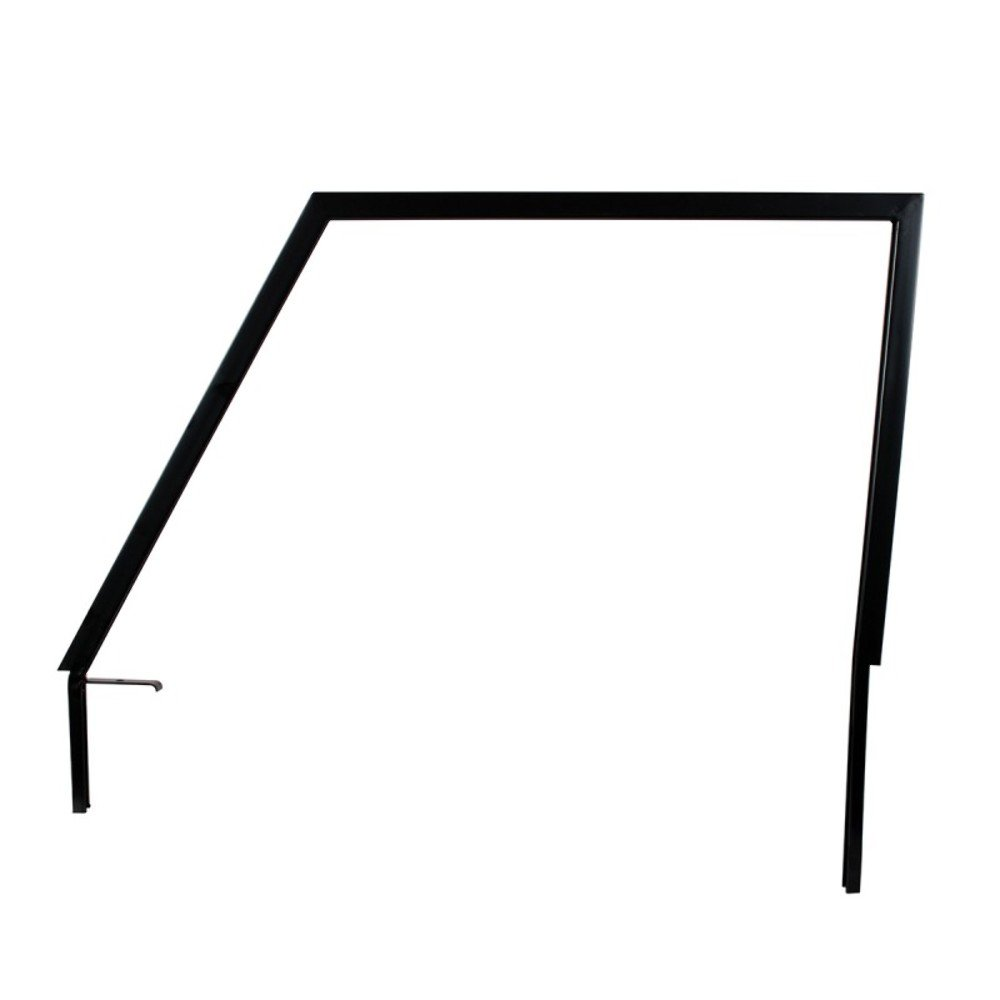 1966-77 Ford Bronco Door Window Frame In Black, L/H by United Pacific