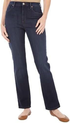 Gloria Vanderbilt Amanda Classic Fit Tapered Leg Women's Jeans (Color: Boardwalk)