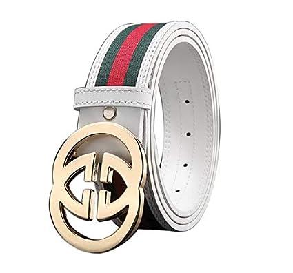 tslme Produkte Mode-Stil Damen Herren unisex Business Casual G/ürtel 3.8CM