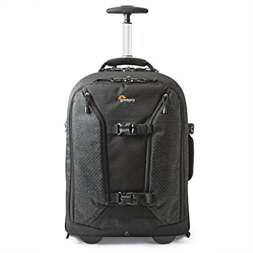 Lowepro Pro Runner RL x450 AW II. Pro Photographer Carry-On Rolling Camera Backpack (Aw Black Backpack)