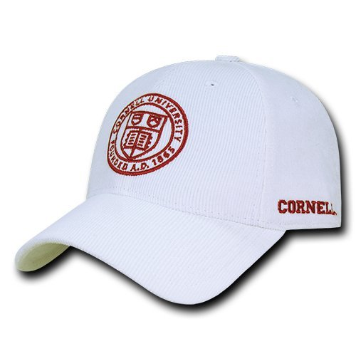 W Republic Apparel Structured Corduroy Cap, Cornell, White, One Size
